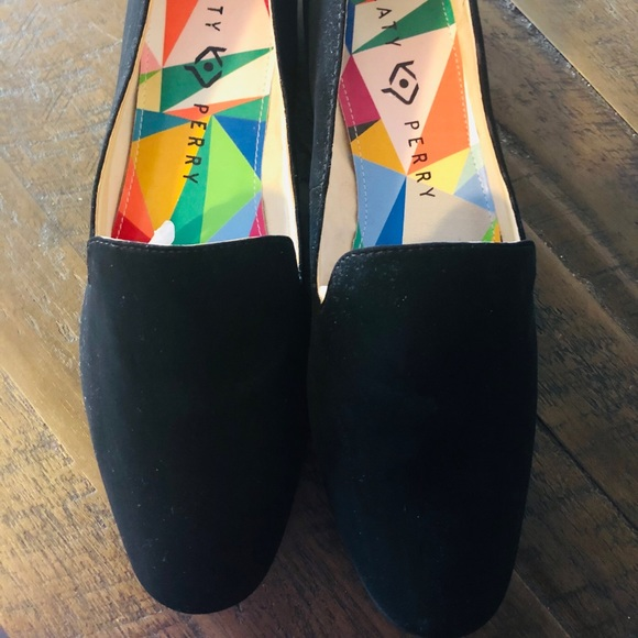 Katy Perry Collections Shoes - 💘Sale NWOT Katy Perry Black Velvet Shoes 8.5💘